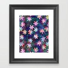Montauk Daisy - Night Framed Art Print