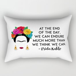 Frida's Strength Rectangular Pillow