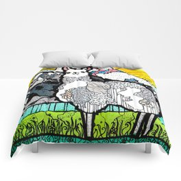 Llama and Andes Comforters