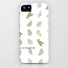 Miharu Shirahata | Oyster and Acorn iPhone Case