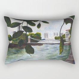 Acrylic Landscape Rectangular Pillow
