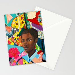 Life in Chaos and Peace Stationery Cards