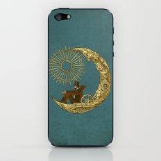 Moon Travel iPhone & iPod Skin