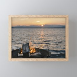Seaside Serenity Framed Mini Art Print