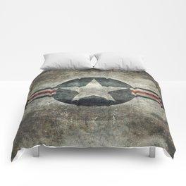 Vintage USAF Roundel Comforters