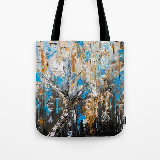 Birch branches Tote Bag