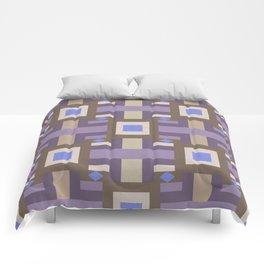 WINTER GEOMETRY PATTERN Comforters