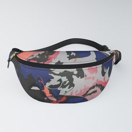 Eight colors in the bucket Fanny Pack