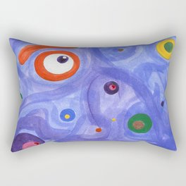 into the nothingness Rectangular Pillow