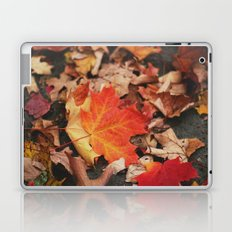 crimson leaves Laptop & iPad Skin
