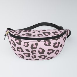 Leopard Print - Pink Chocolate Fanny Pack