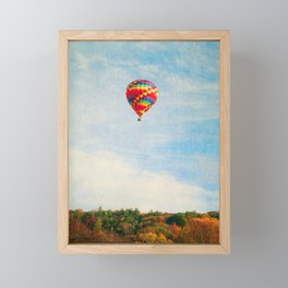 Up UP and Away Framed Mini Art Print