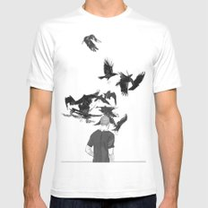 Dream Thief 2X-LARGE White Mens Fitted Tee