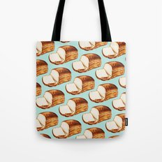 Bread Pattern Tote Bag