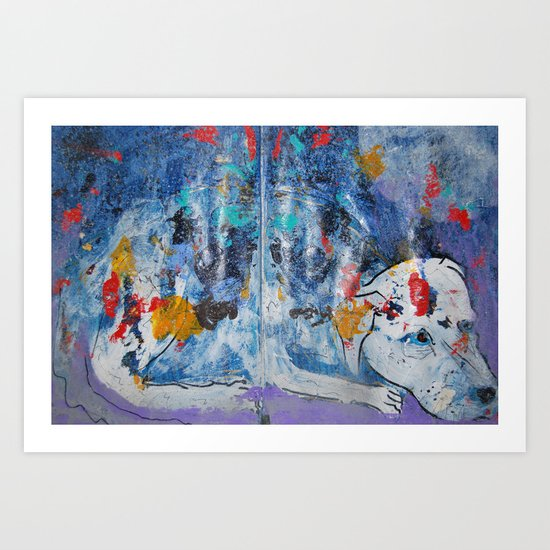 moondog Art Print