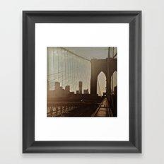 Brooklyn 2 Framed Art Print