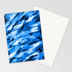 la configuration bleue Stationery Cards