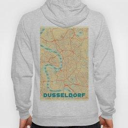 Dusseldorf Map Retro Hoody