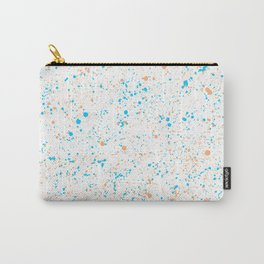 Splatter - Orange Blue Colorway Carry-All Pouch