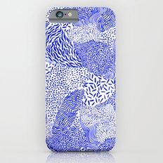 Blue sand iPhone 6s Slim Case