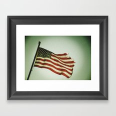 My Country Framed Art Print
