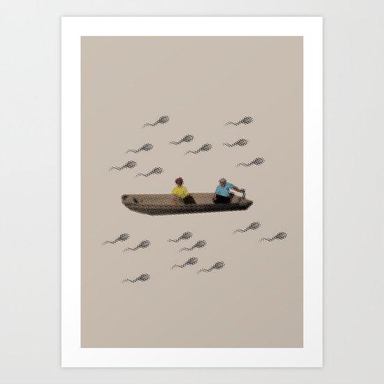 River of life Art Print