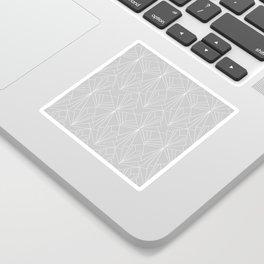 Art Deco on Grey Sticker