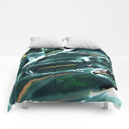 Pleated Metal Construction Comforters