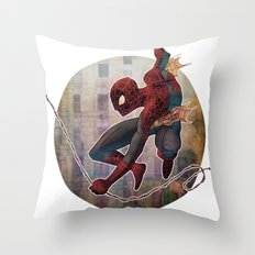 The Amazing Spider-man Throw Pillow