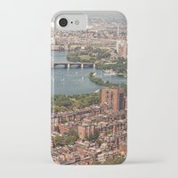 boston iPhone & iPod Cases featuring boston by shannonblue