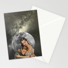 Lovers In Space Stationery Cards