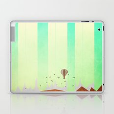 Pillars in the twilight sky Laptop & iPad Skin