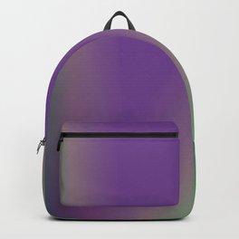 purple green texture design Backpack