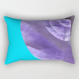 Light Blue Mystical Powers of Amethyst #society6 Rectangular Pillow
