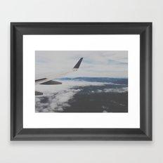 portland, OR. Framed Art Print