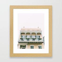 Vieux Carré New Orleans Framed Art Print