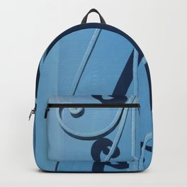 Blue Grill Backpack