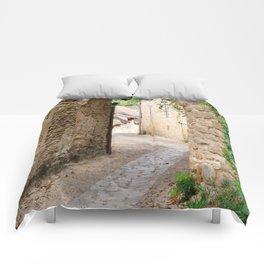 Through the Village Comforters