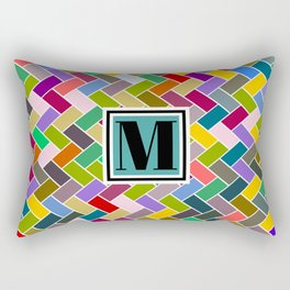 M Monogram Rectangular Pillow