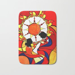 Sunset on This Day Bath Mat
