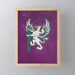 Ala Mhigo Flag - Artwork from ( FFXIV) Framed Mini Art Print