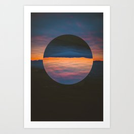 Black Sun Art Print