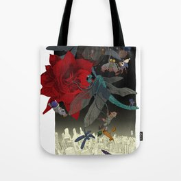 Amaryllis Tote Bag