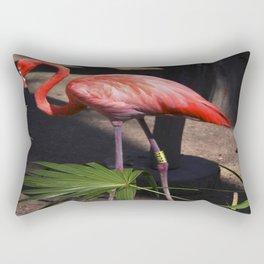 Flamingo 3 Rectangular Pillow