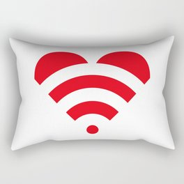 LOVE is all around Rectangular Pillow