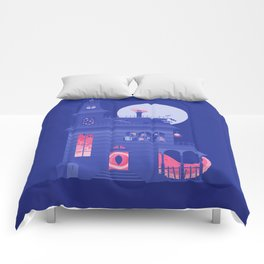 Cursed Residence Comforters