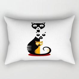 Cats Family Rectangular Pillow