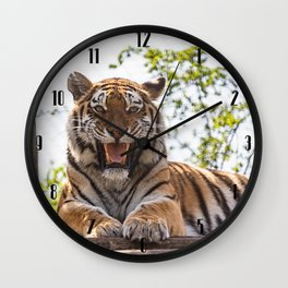 SIBERIAN TIGER Wall Clock