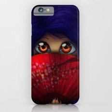Hiding.  Slim Case iPhone 6s