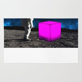 Cube from Space Rug